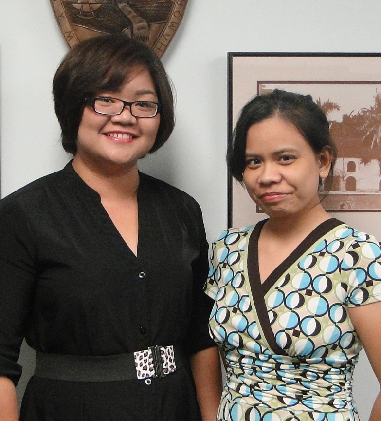 Mrs. Llewelyn Terlaje and Auditor Ms. Joy Bulatao